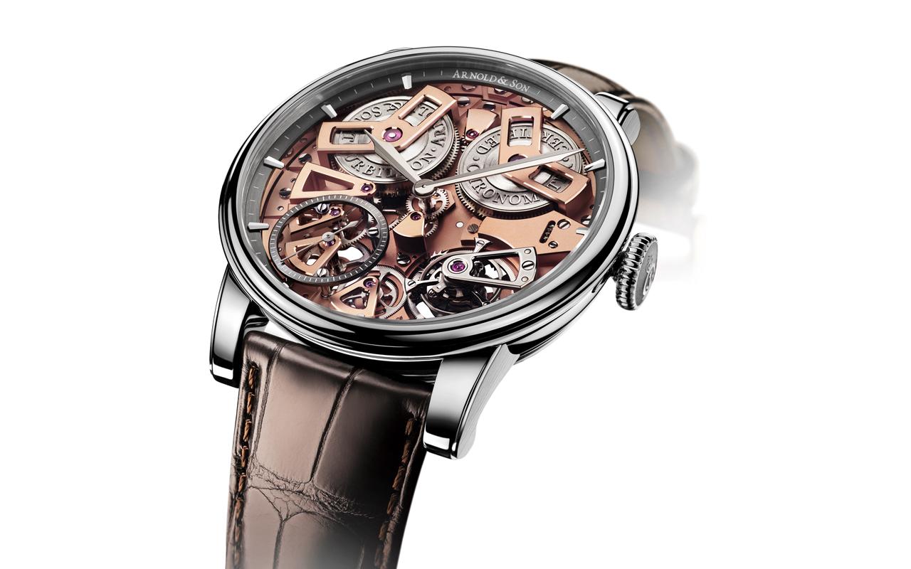 Arnold & Son Tourbillon Chronometer No. 36, tributo a John Arnold