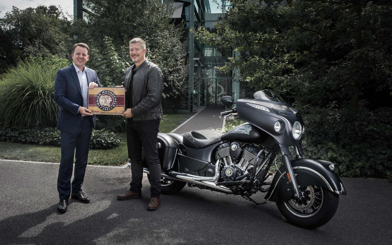 Baume & Mercier se asocia con Indian Motorcycle