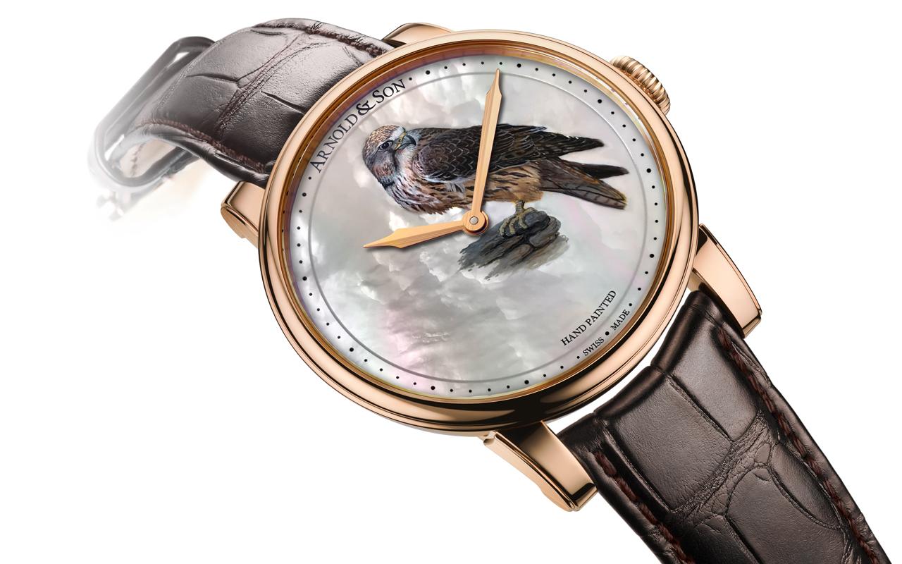 Arnold & Son Métiers d'Art HM Falcon, creación de altos vuelos