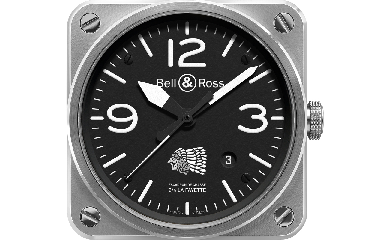 Bell & Ross BR03-92 La Fayette, tributo a los héroes del aire