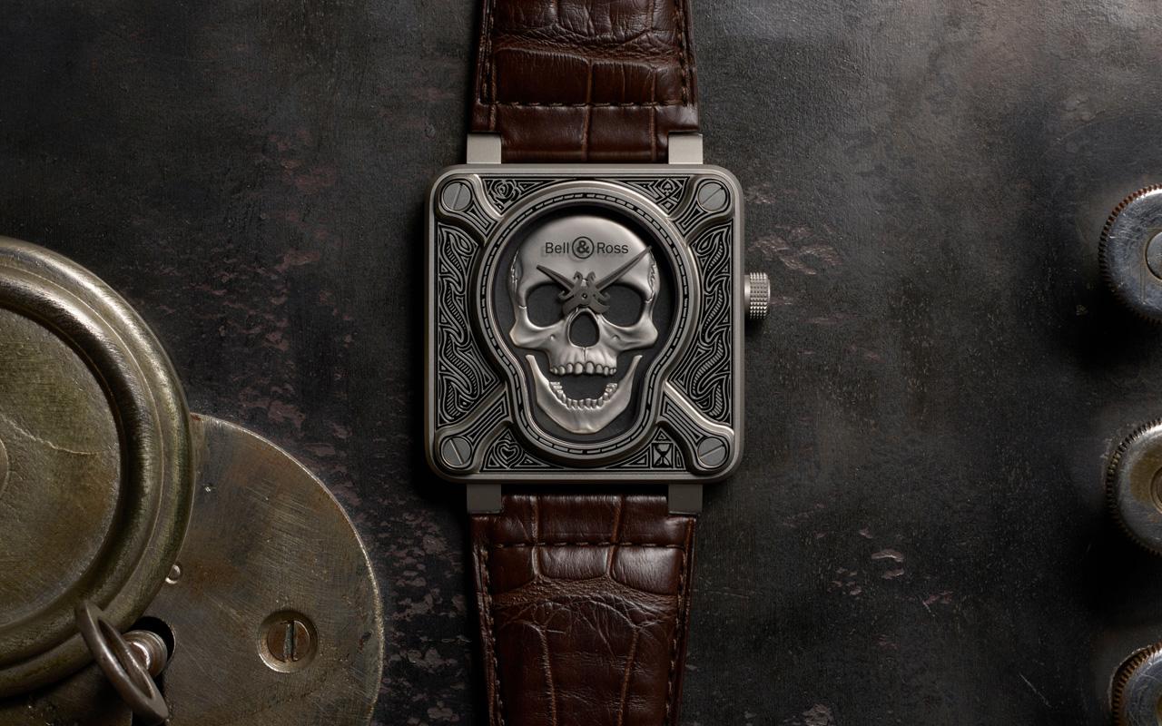 Bell & Ross Burning Skull, culto al arte del tatuaje