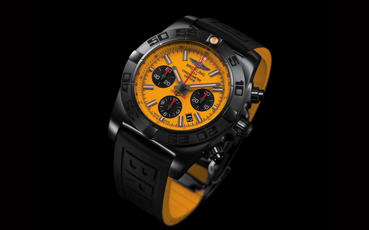Breitling Chronomat 44 Blacksteel Special Edition, robustez y precisión