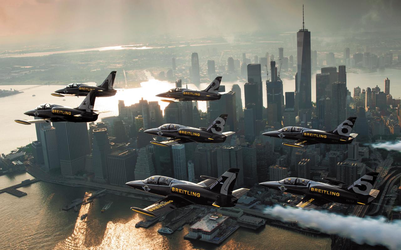 El Breitling Jet Team conquista los aires