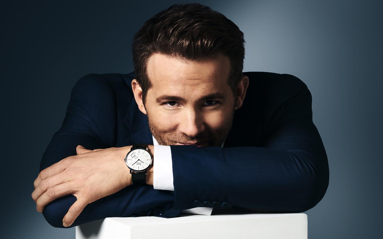 Ryan Reynolds, nuevo embajador de Piaget