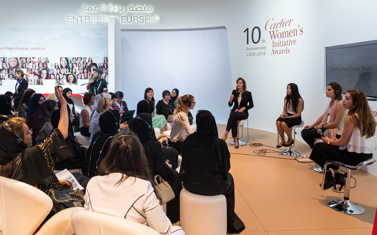 Cartier apuesta por las mujeres emprendedoras