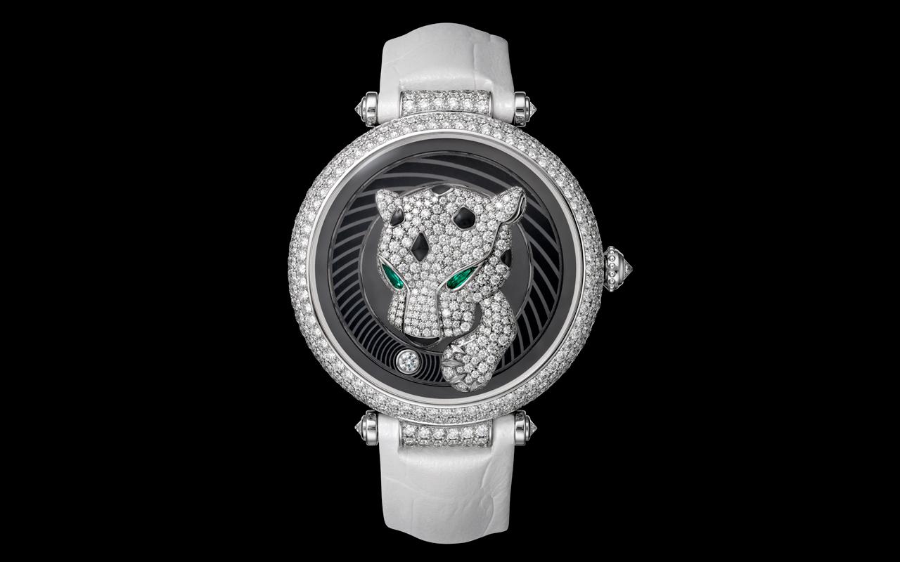 Cartier Panthère Joueuse, un diálogo entre la relojería y joyería