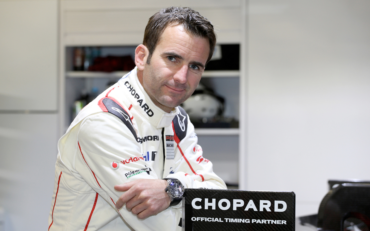 Romain Dumas, embajador de Chopard en la carrera Pikes Peak