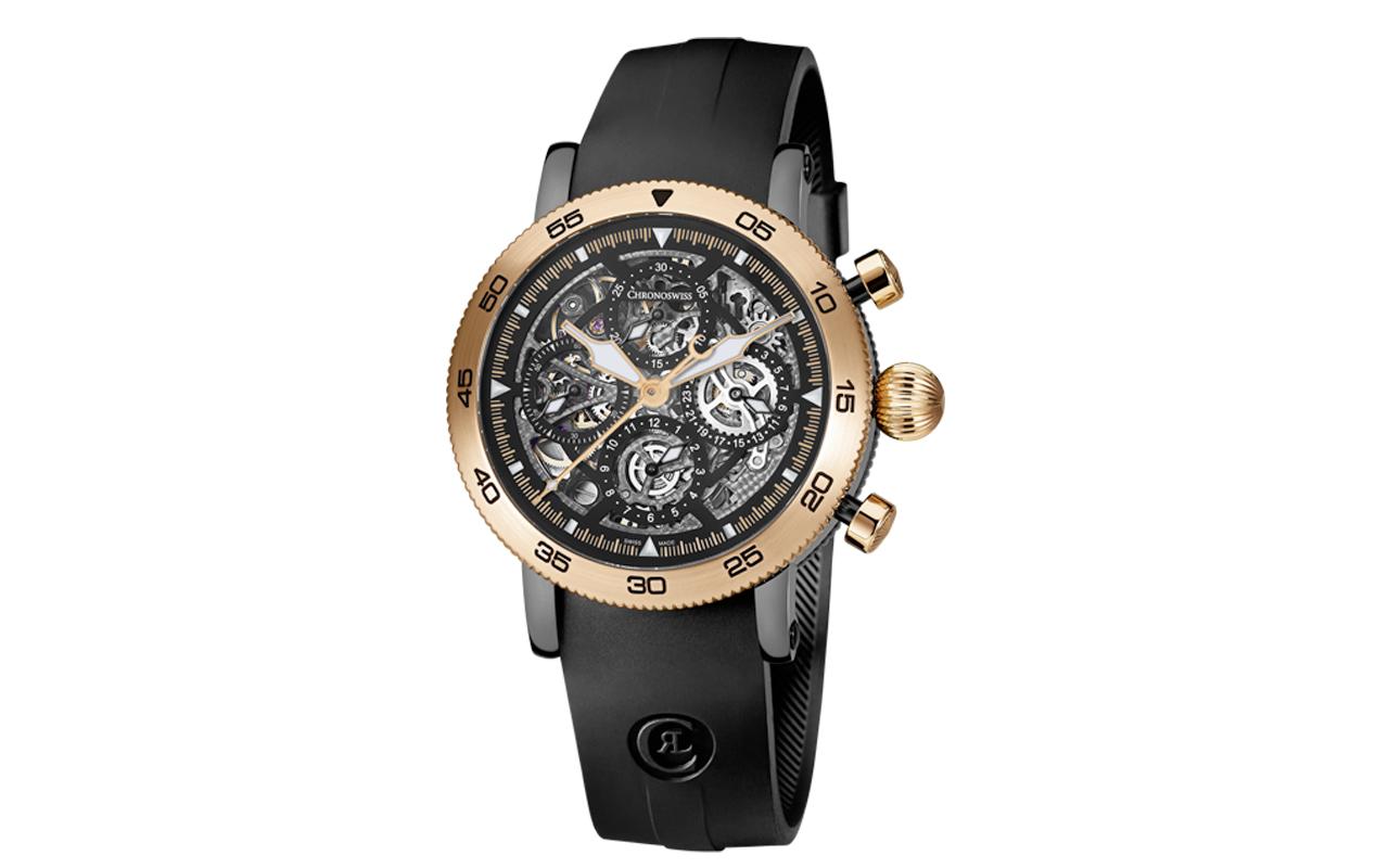 Cinco bellos relojes esqueletados de temporada