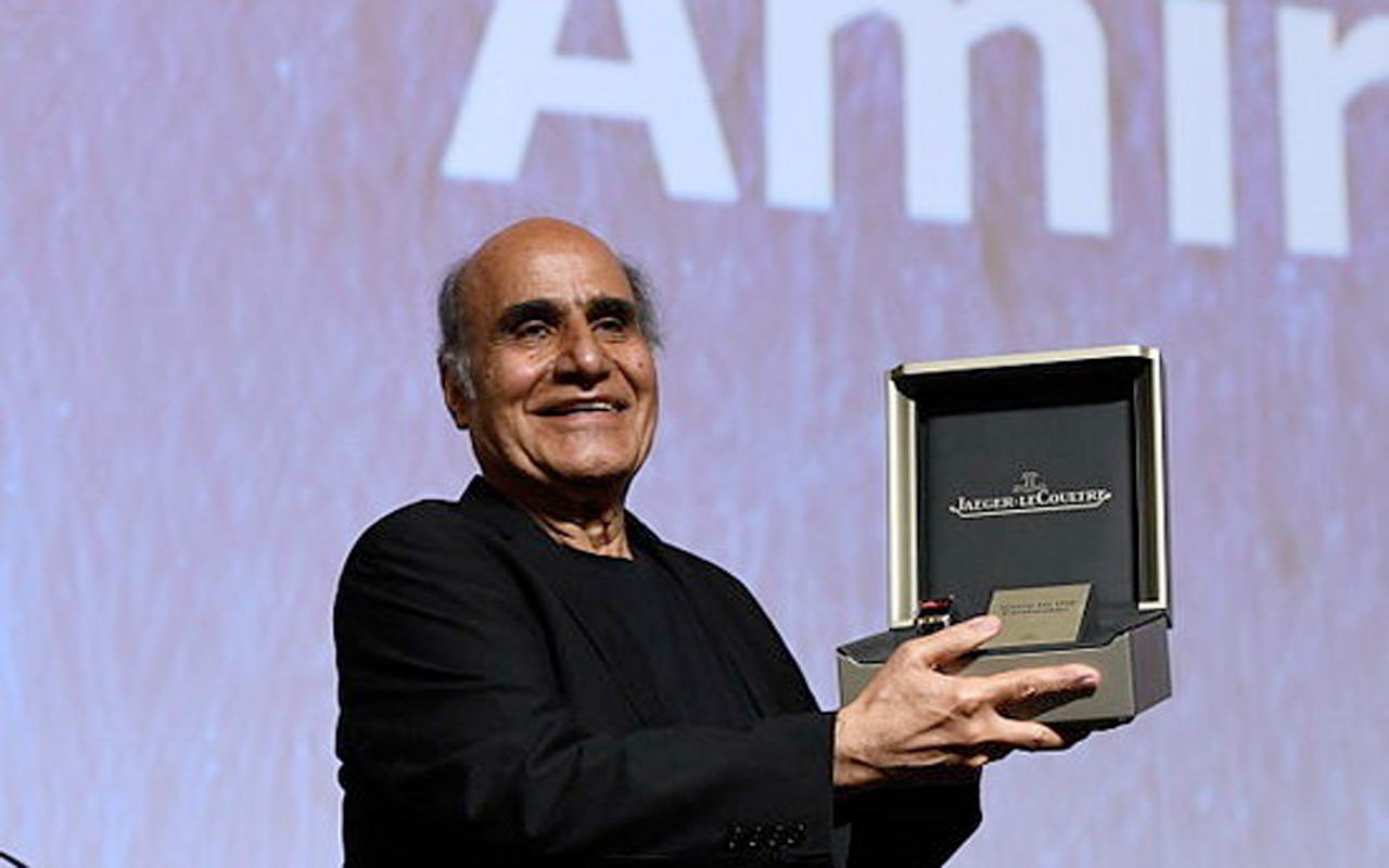 Amin Naderi, galardonado con el Jaeger-LeCoultre Glory to the Filmmaker
