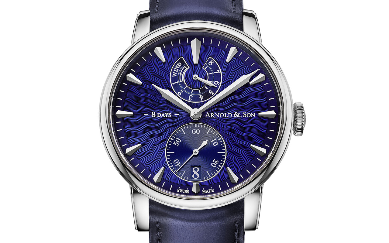 Arnold & Son: Eight-Day Royal Navy, mezcla de tradición y precisión