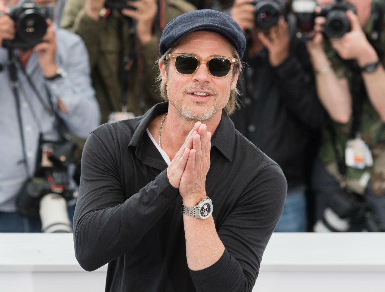 Breitling y Brad Pitt protagonizan Cannes