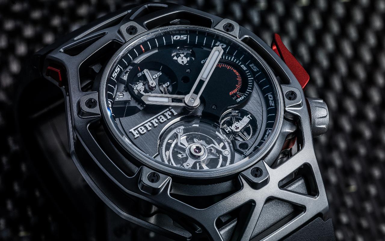 Hublot Techframe Ferrari 70 Years Tourbillon Chronograph, tributo de colección