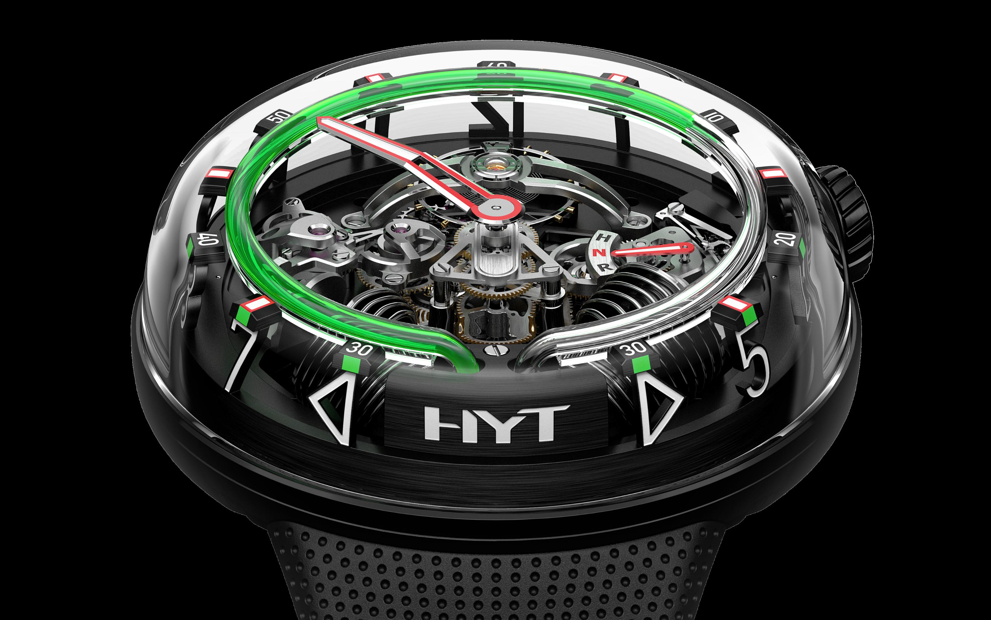 HYT H20, desafío a la gravedad
