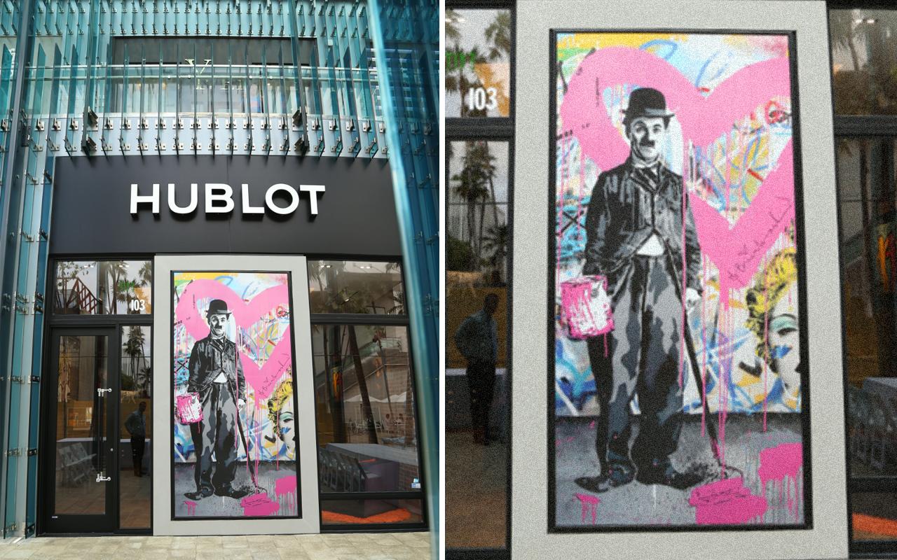 Hublot fortalece su pasión por el arte