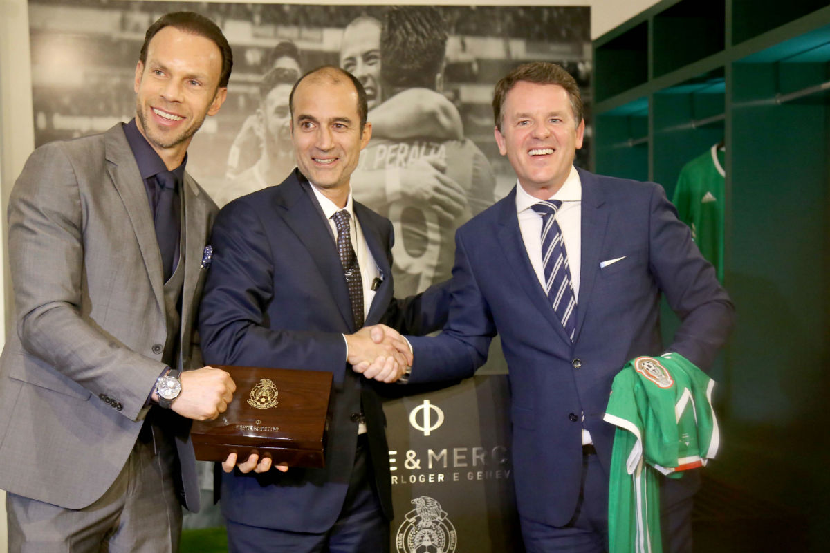 Baume & Mercier celebra a la Selección Nacional de México