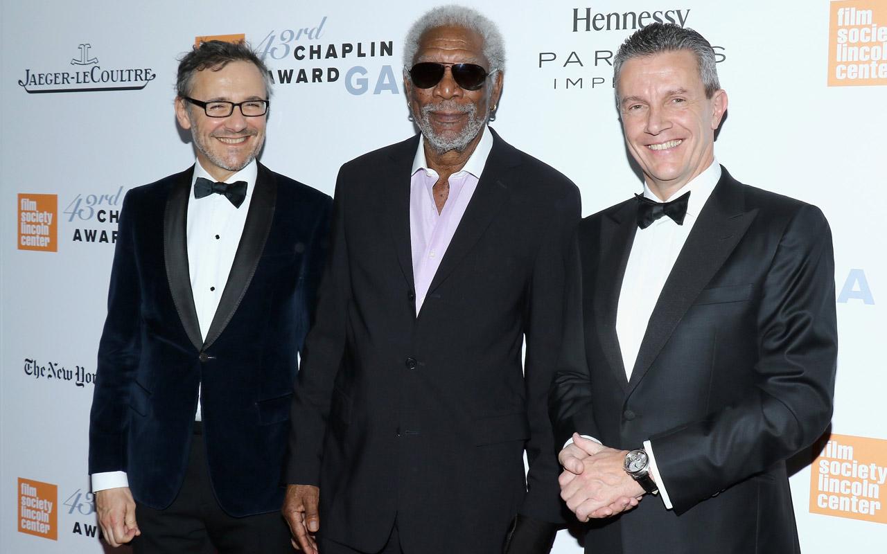 Jaeger-LeCoultre con el premio 'Chaplin' a Morgan Freeman