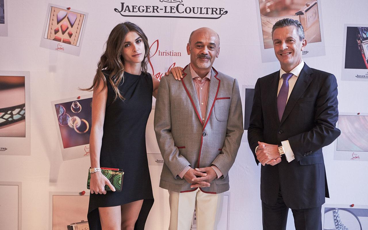 Jaeger-LeCoultre y Christian Louboutin, con el Reverso
