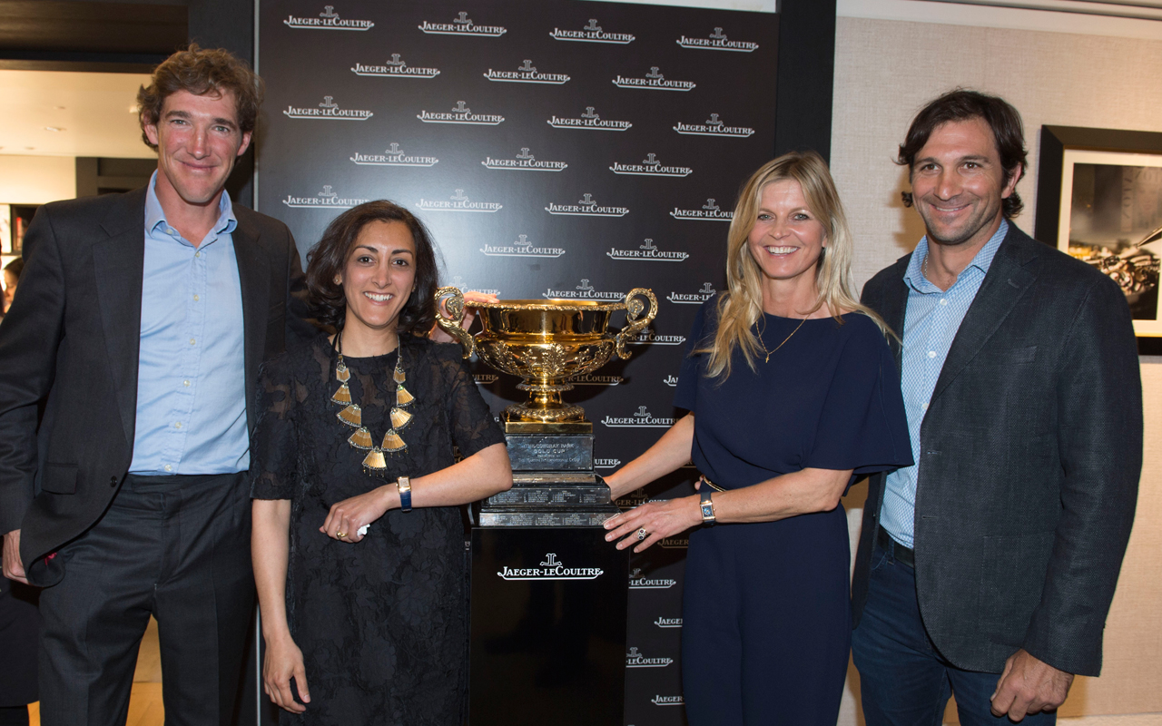 Jaeger-LeCoultre patrocina la Polo Gold Cup 2016