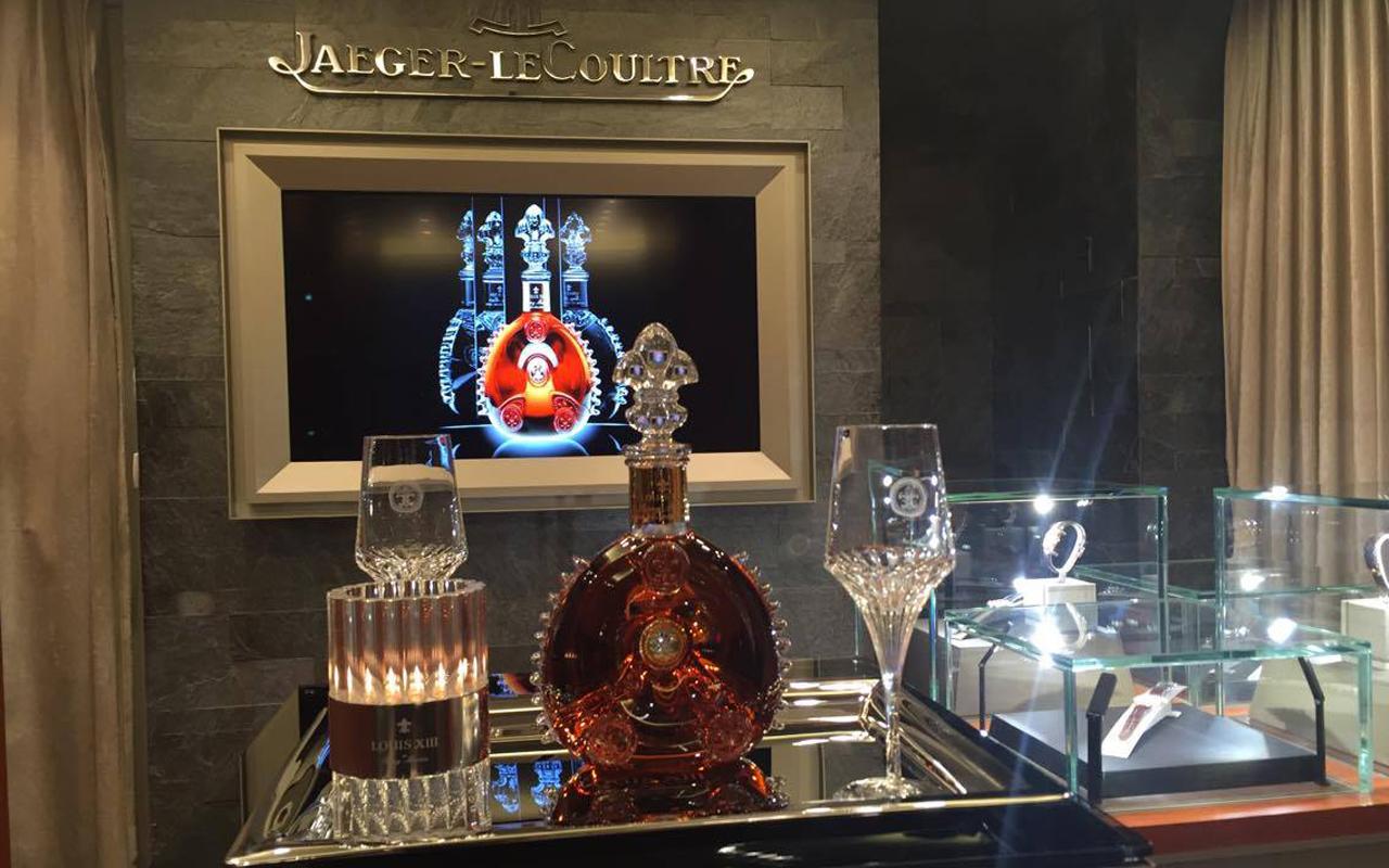 Jaeger-LeCoultre y Louis XIII, el valor del tiempo