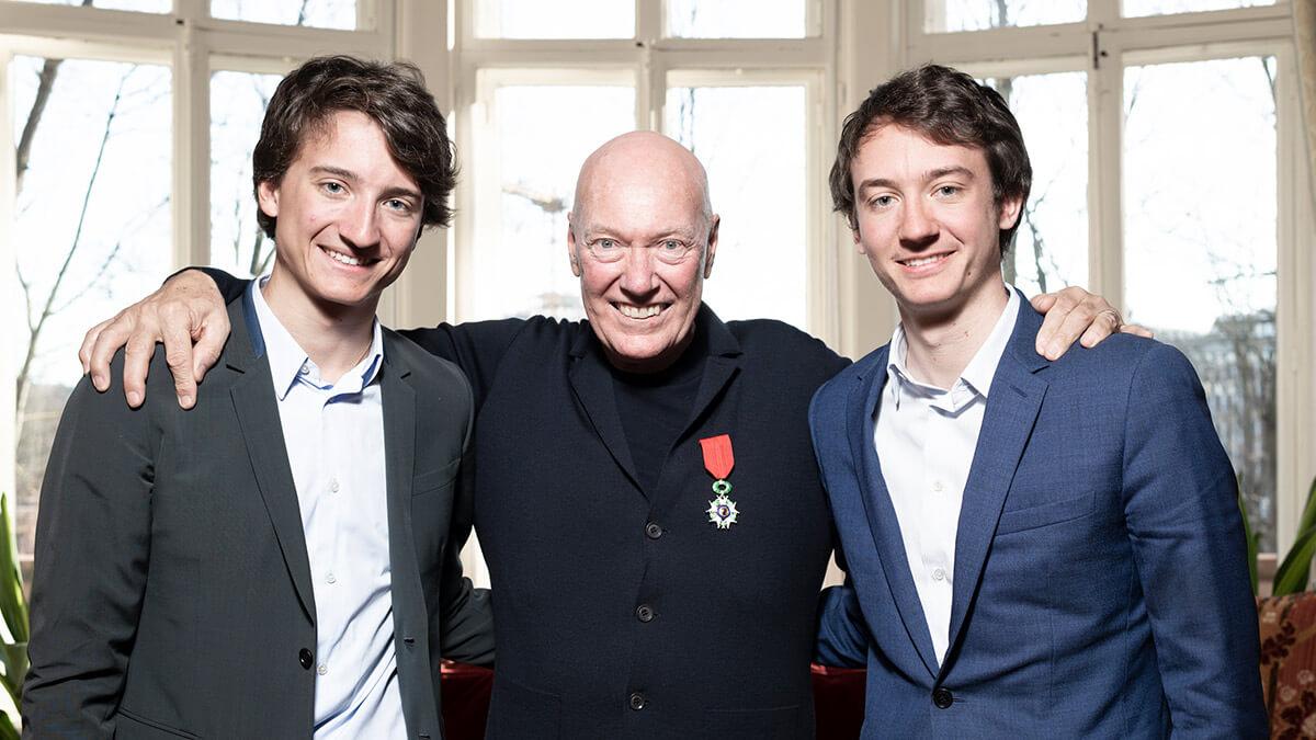 Jean-Claude Biver recibe la Legión de Honor de Francia