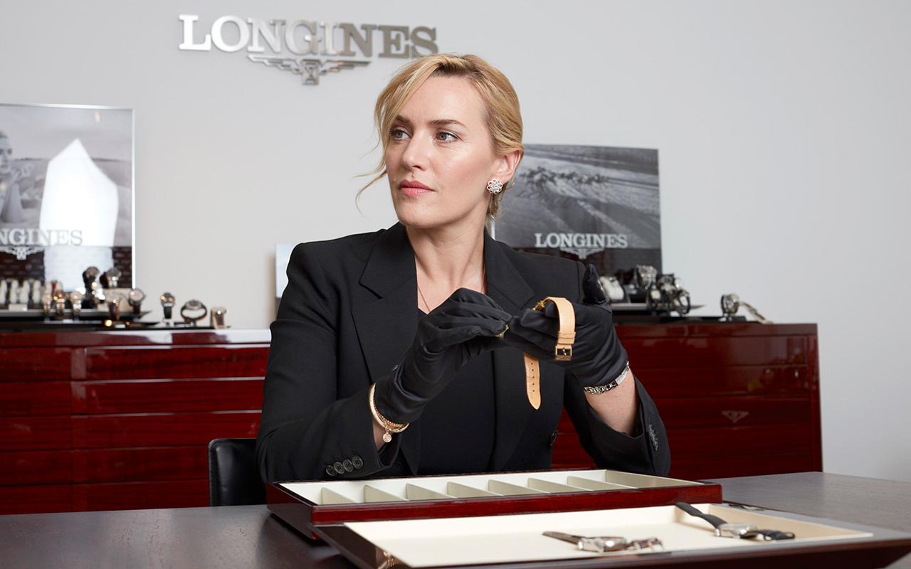 Longines recibió a su embajadora Kate Winslet en Saint-Imer