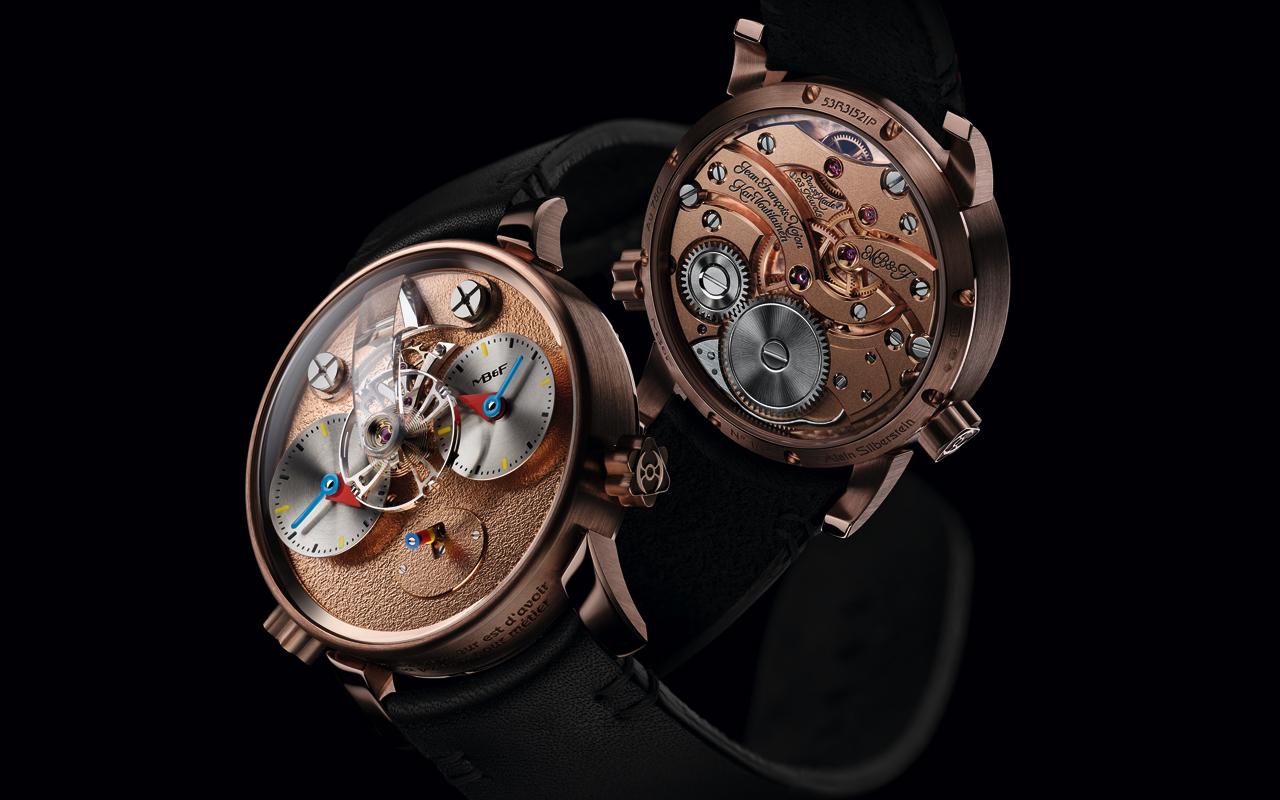 MB&F LM1 Silberstein, diseñar el corazón del tiempo