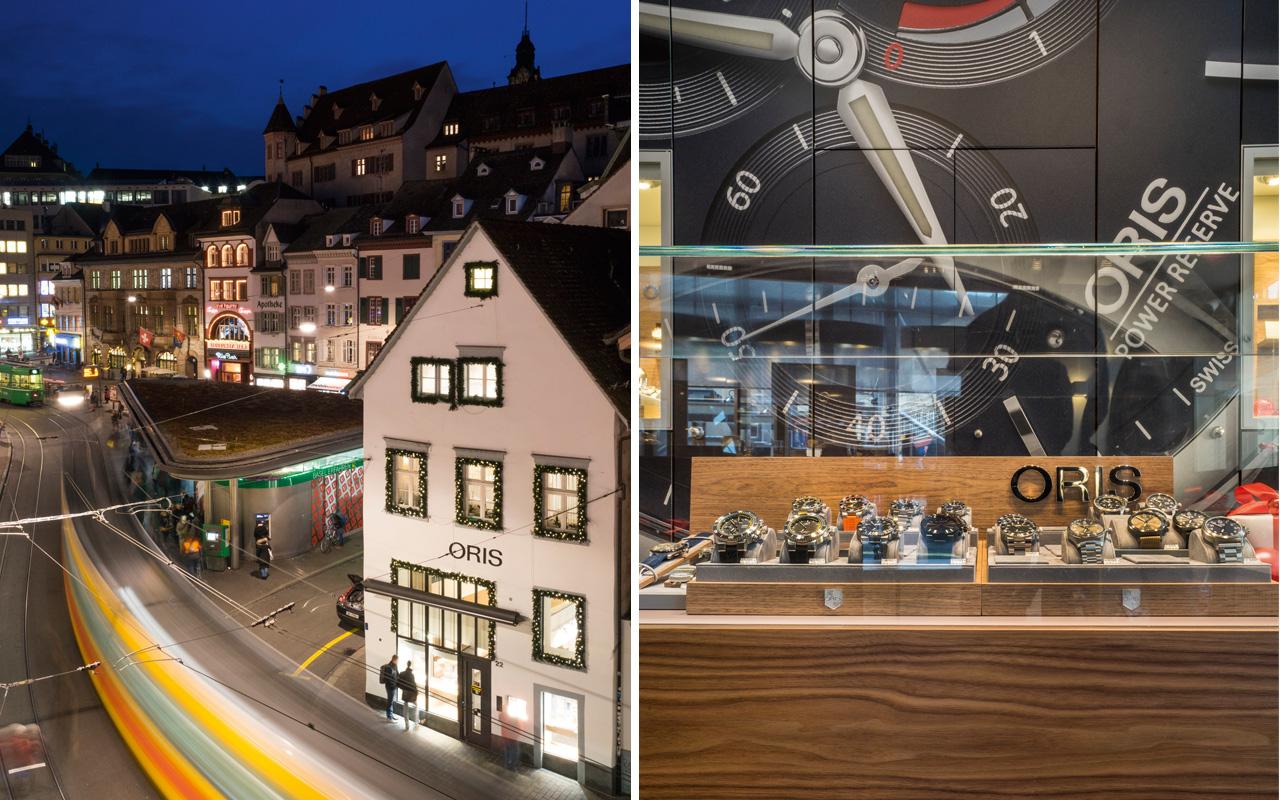 Oris abre boutique en Basel