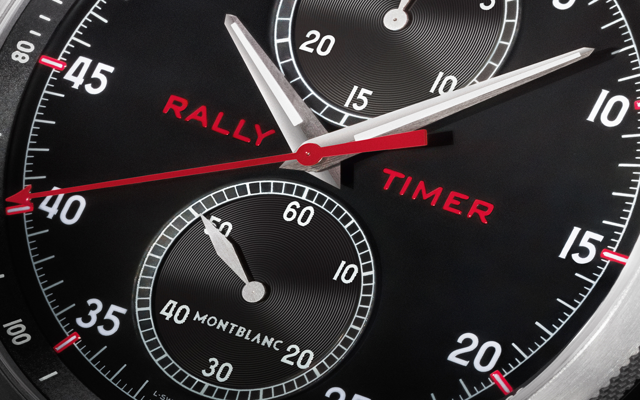 Montblanc Rally Timer Counter Limited Edition, máxima inspiración 'racing'