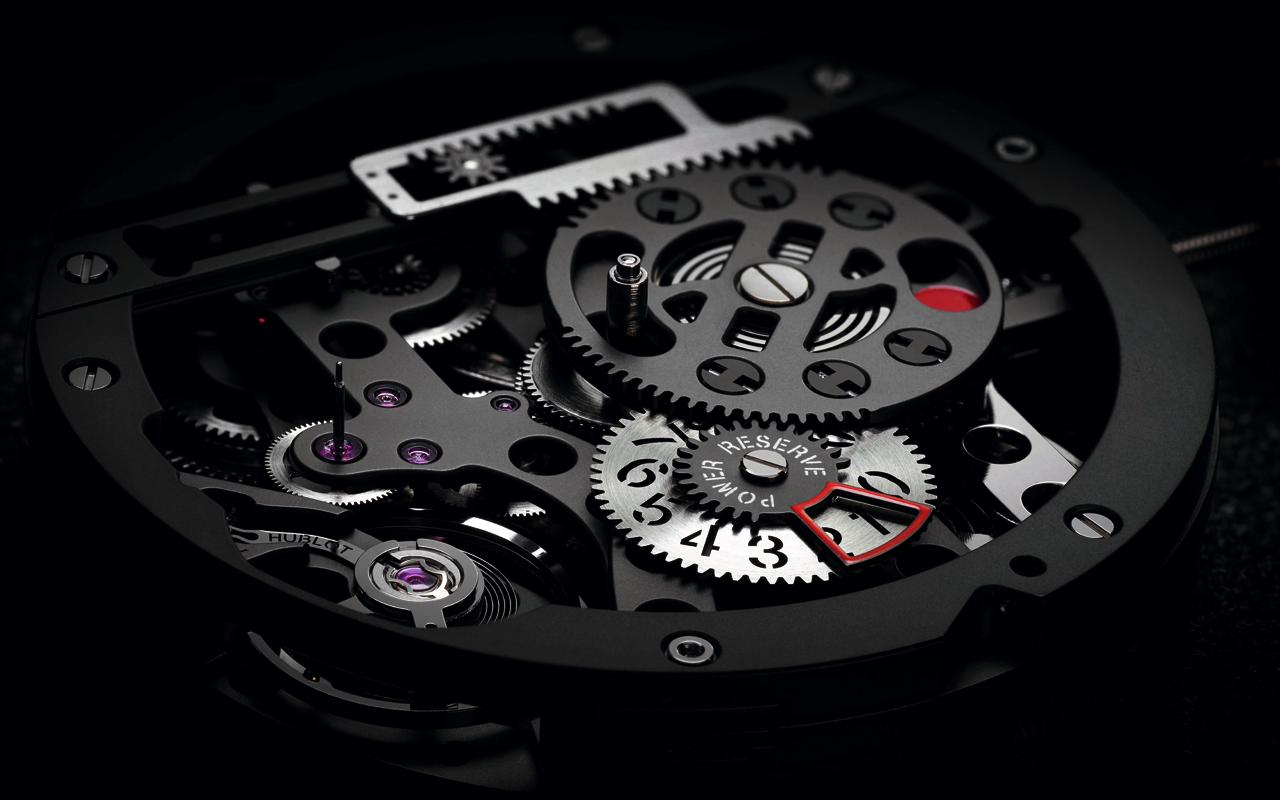 Big Bang Meca-10, un 'meccano' haute horlogerie