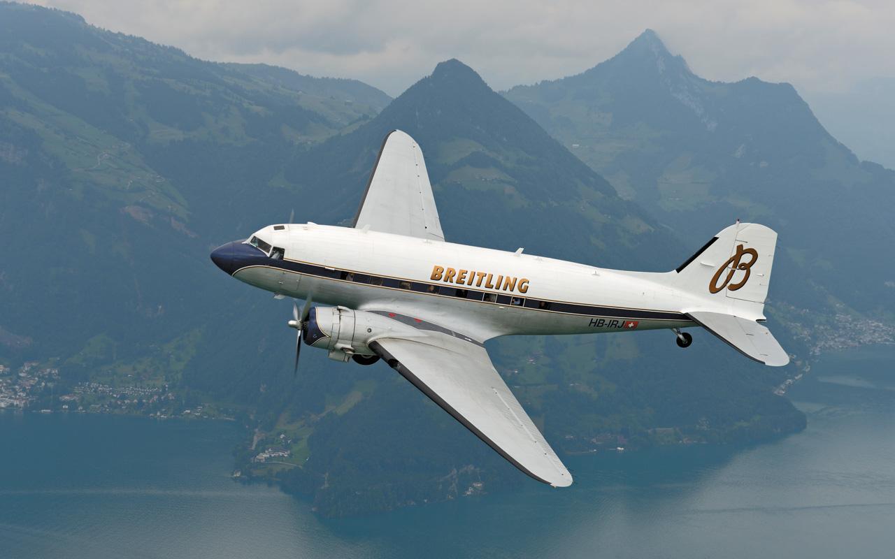 El Breitling DC-3 dará la vuelta al mundo