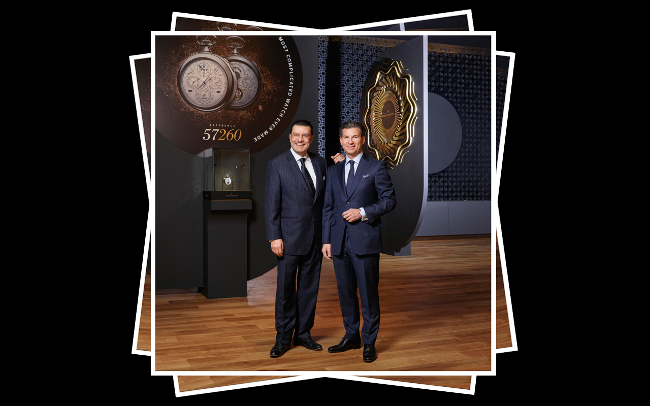 Louis Ferla, nuevo CEO de Vacheron Constantin