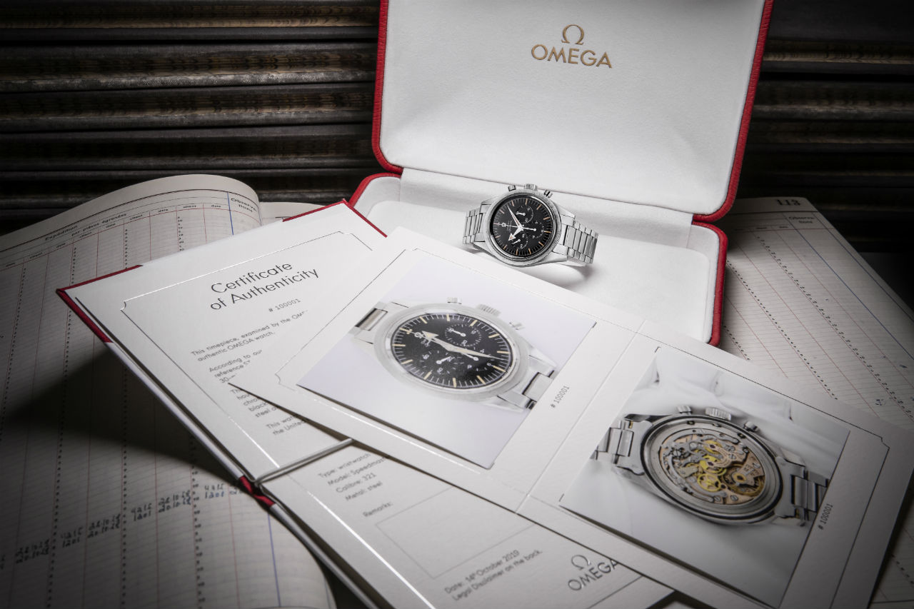 Omega presenta nuevo Certificado de Autenticidad
