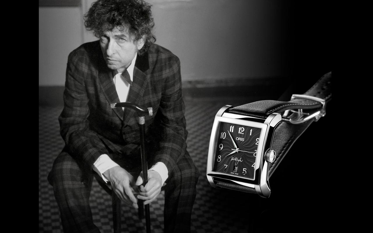Oris celebra a Bob Dylan, ganador del Nobel de Literatura