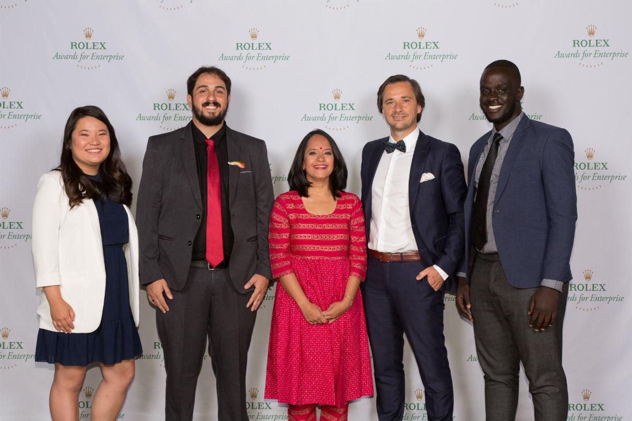 Rolex premia a la iniciativa
