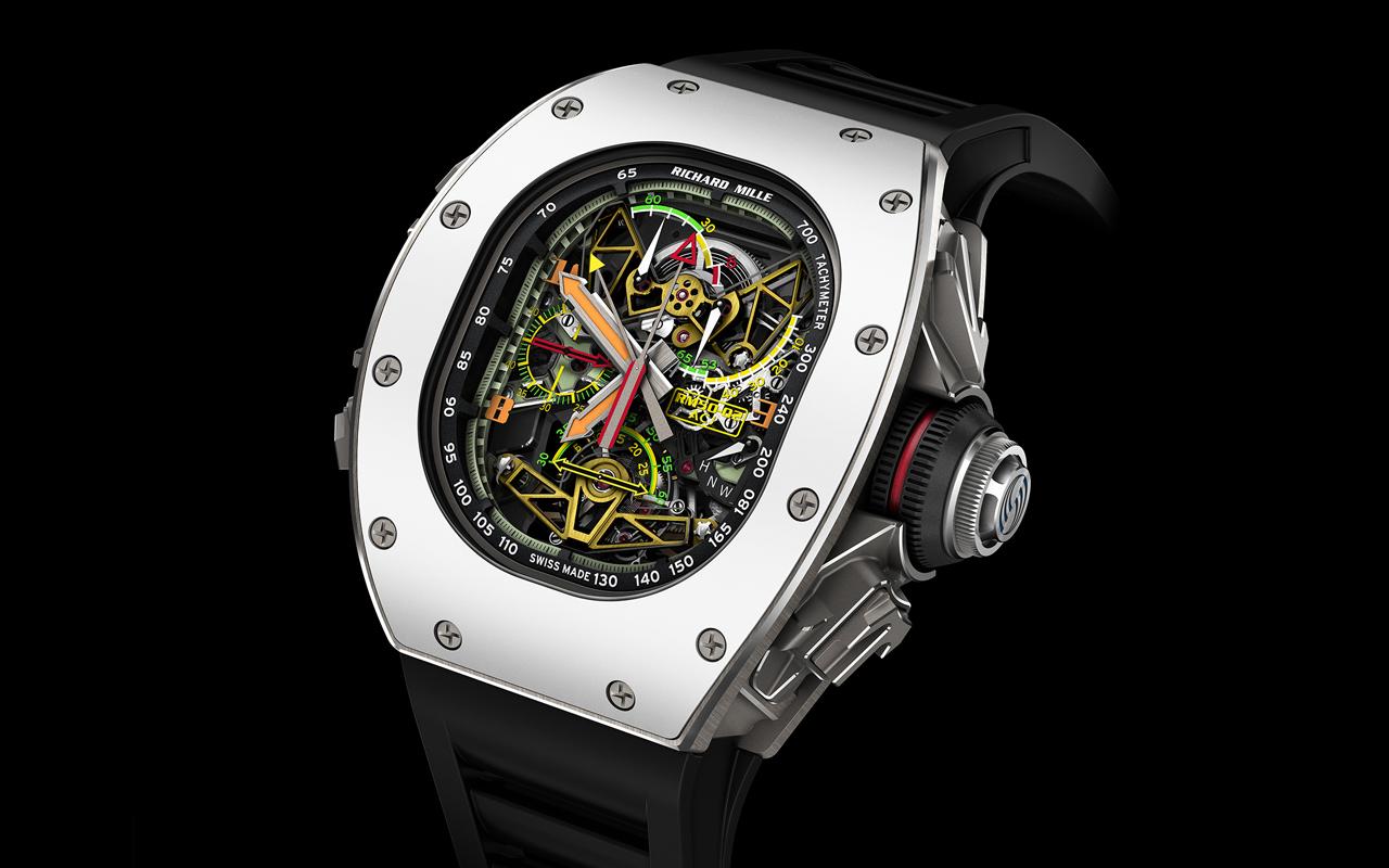 Richard Mille RM 50-02 ACJ, garantía de éxito