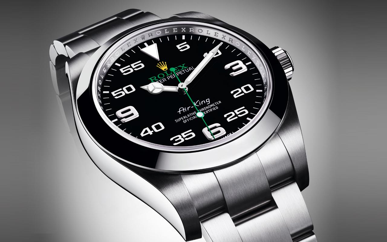 Oyster Perpetual Air-King, Rolex reafirma su herencia aeronáutica