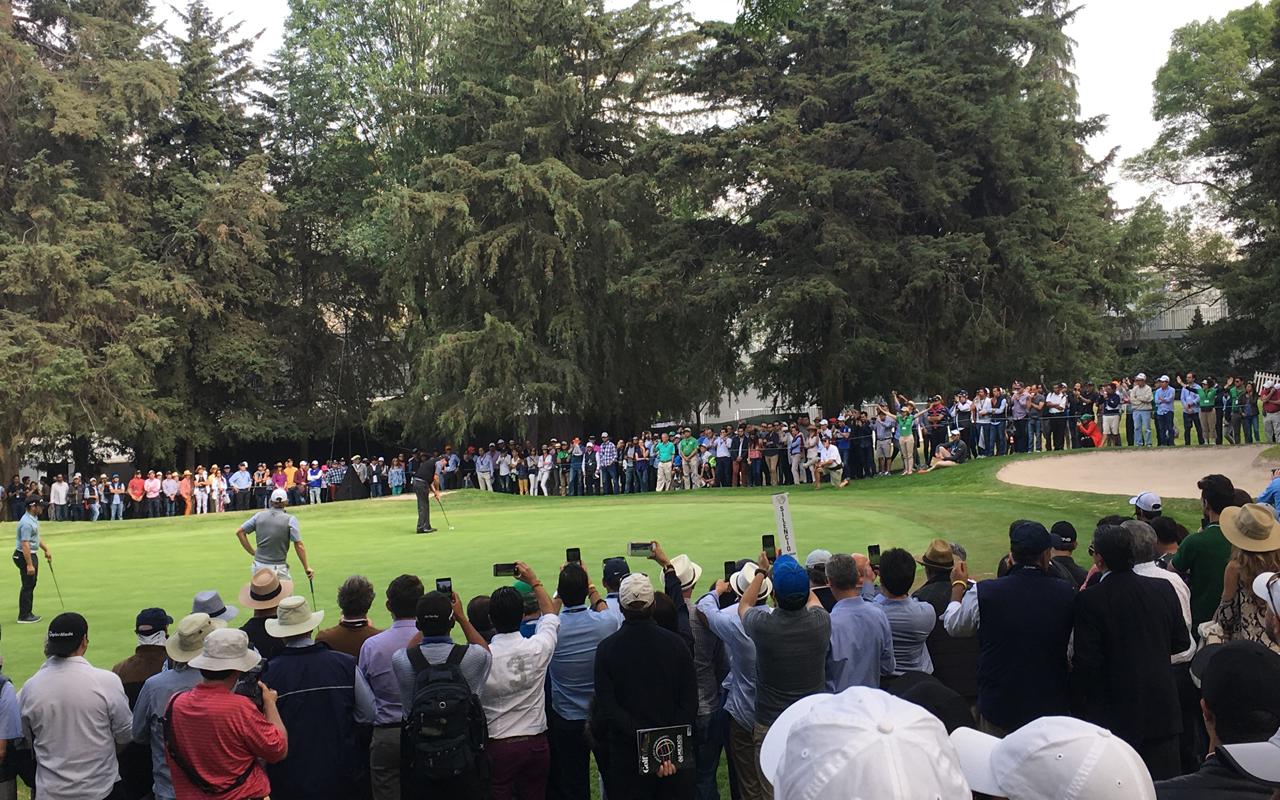 World Golf Championships-Mexico Champion, la energía de Rolex