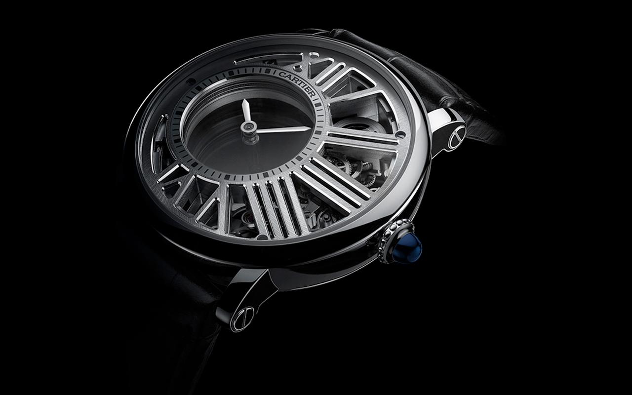Rotonde de Cartier Horas Misteriosas Esqueleto, magia del movimiento