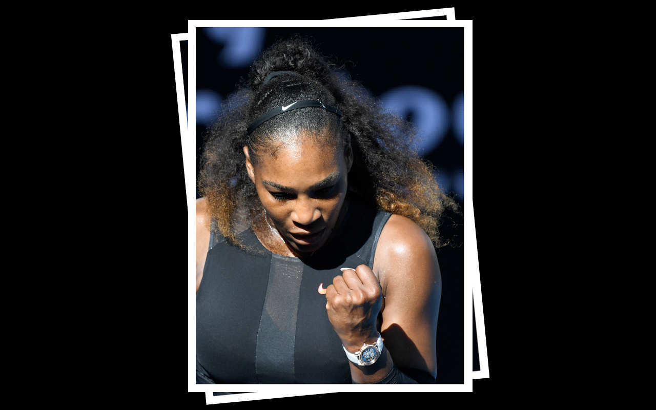Serena Williams rompe récord con Audemars Piguet