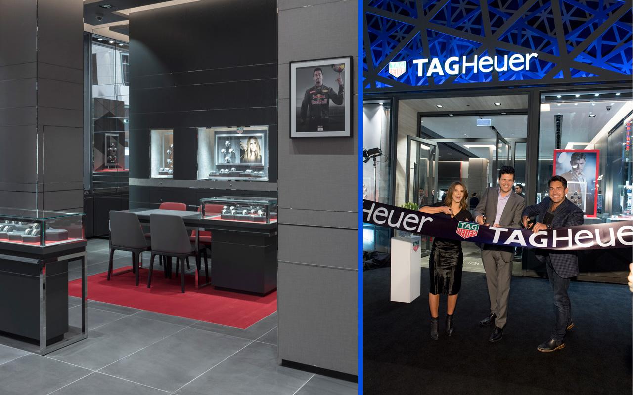 TAG Heuer inaugura boutique en Sídney