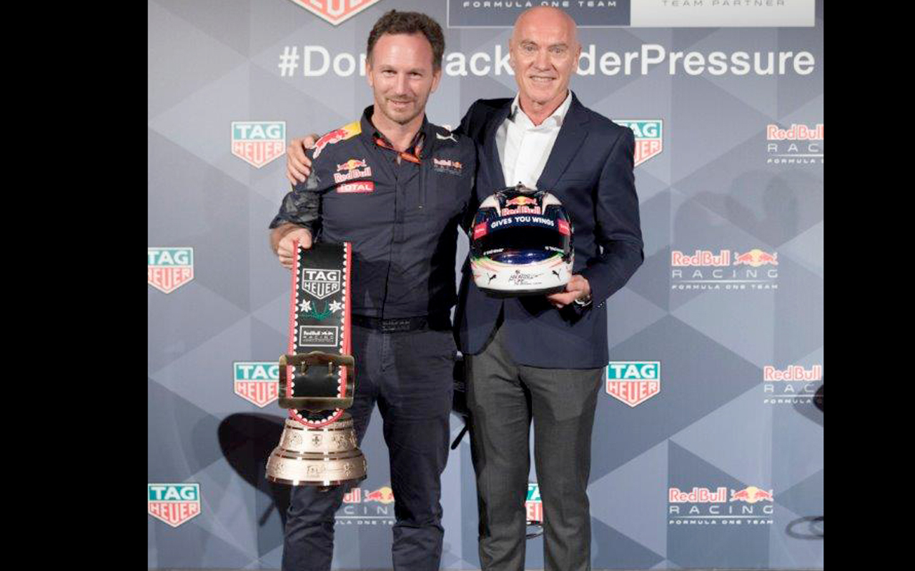 TAG Heuer extiende su alianza con Red Bull Racing F1 Team