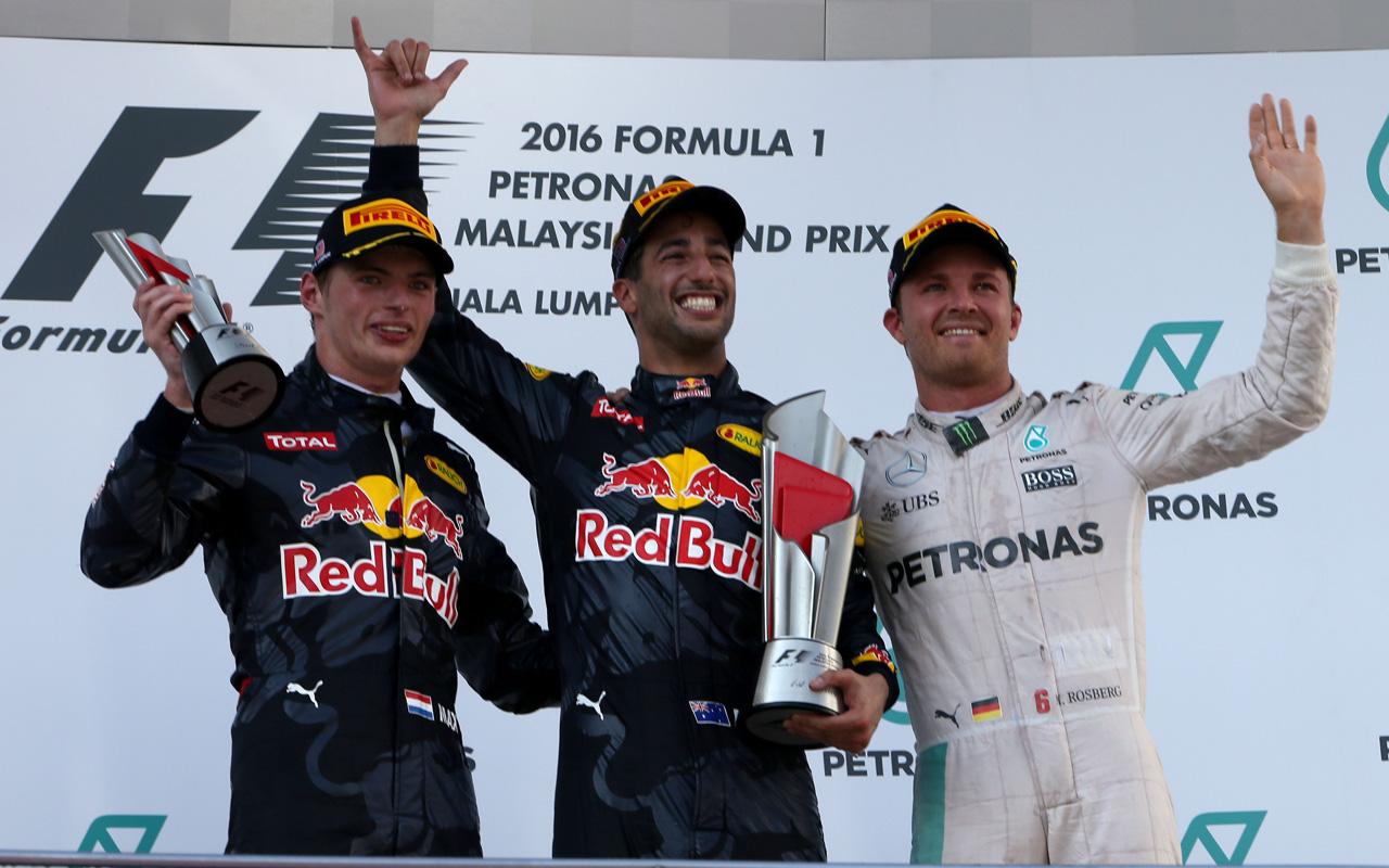 TAG Heuer y el Red Bull Racing arrasan en el GP Malasia Fórmula 1