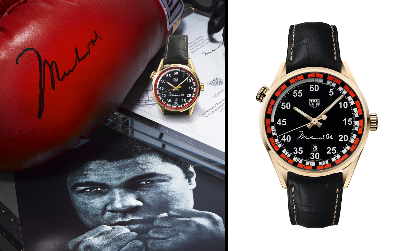 TAG Heuer rinde tributo a Muhammad Ali