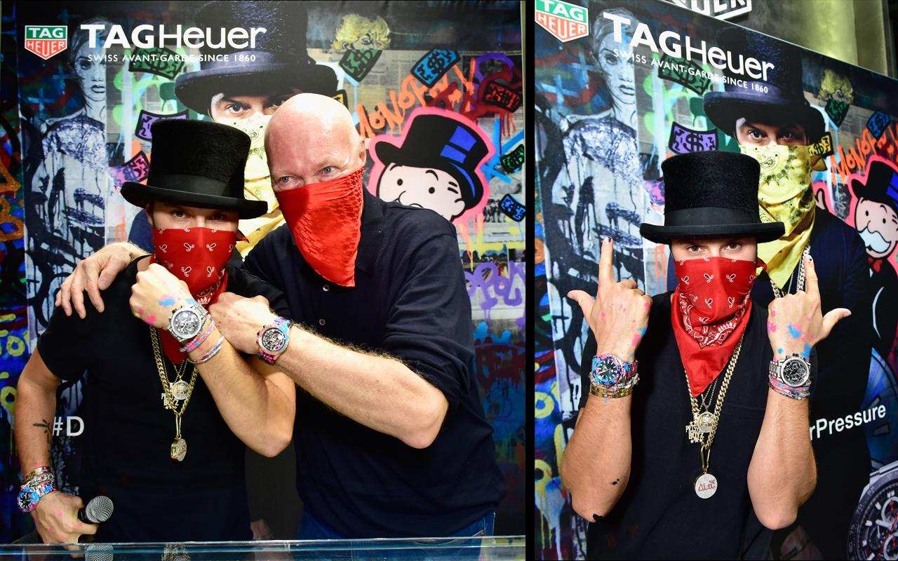 TAG Heuer provoca con Alec Monopoly