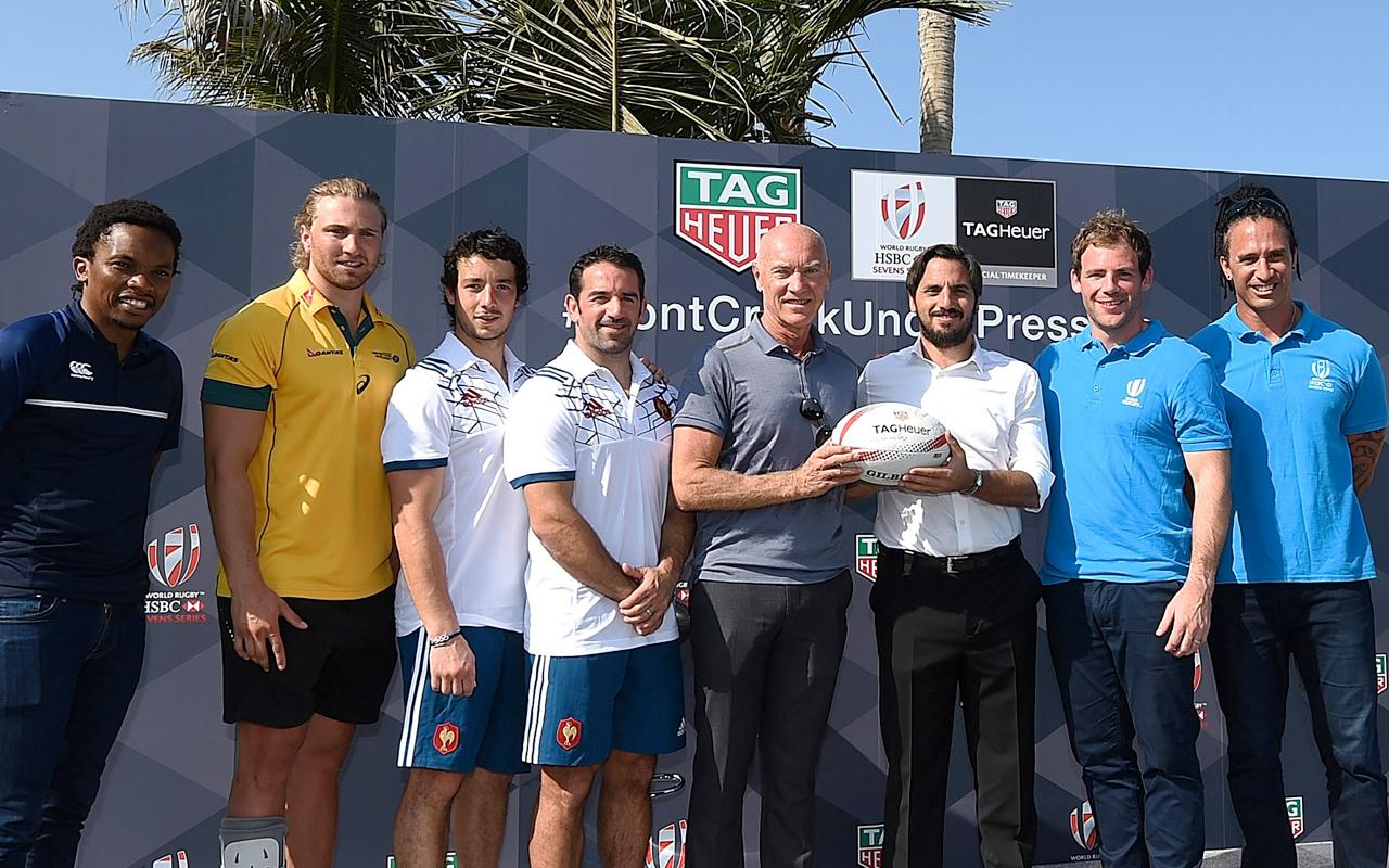 TAG Heuer hace equipo con el rugby a 7