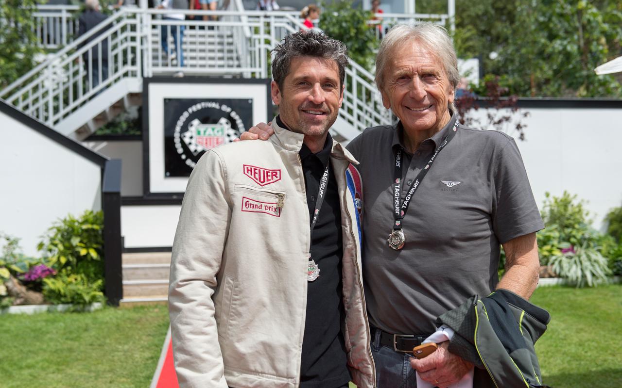 TAG Heuer y Patrick Dempsey, en el legendario Goodwood Festival
