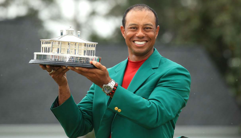 Rolex y Tiger Woods se coronan en el Masters de Augusta