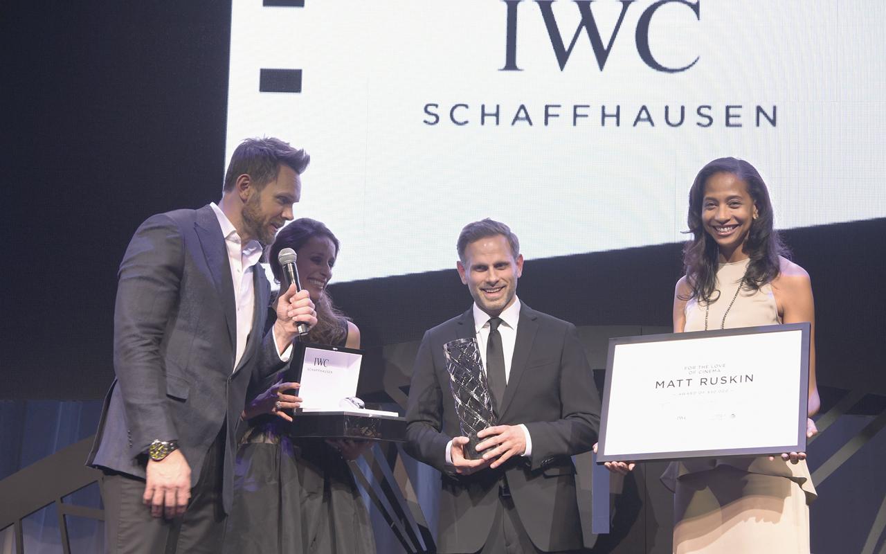 IWC Schaffhausen impulsa el Festival de Tribeca