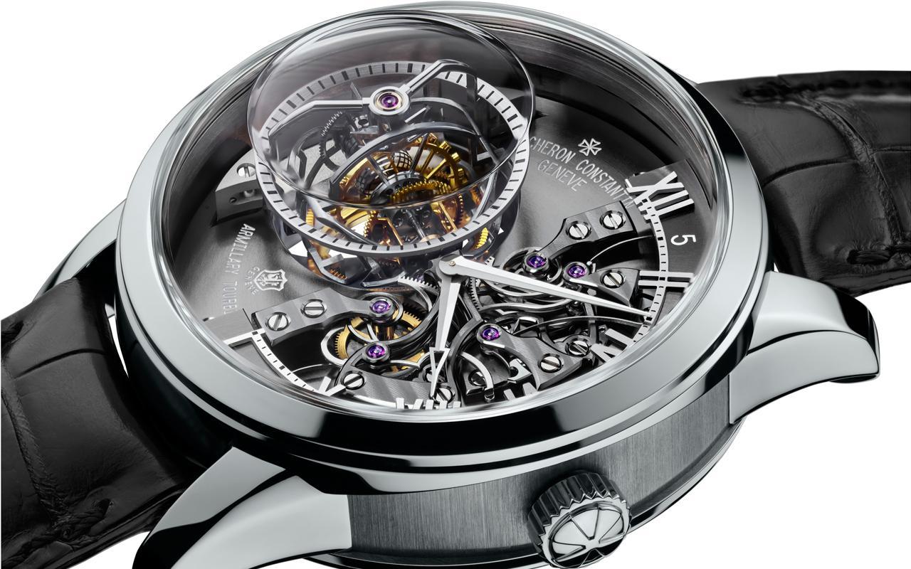 Cinco relojes con tourbillones virtuosos