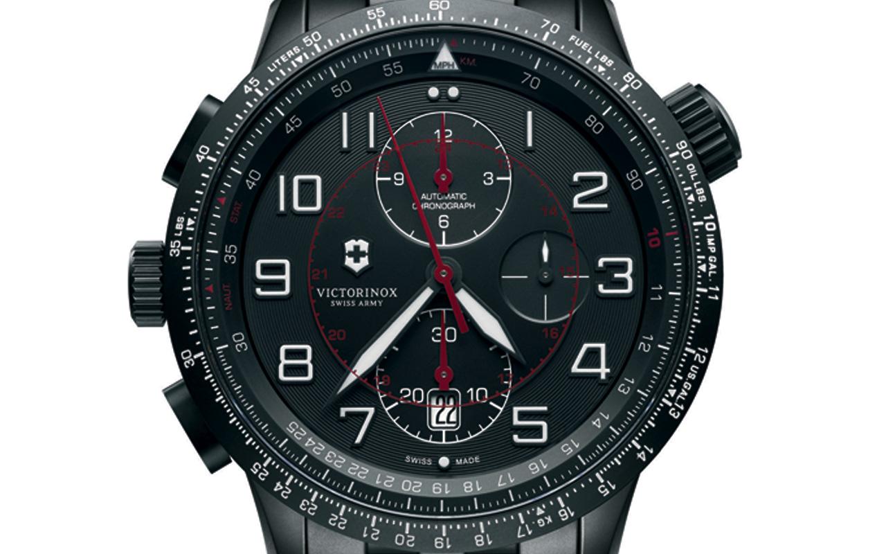 Airboss Mach 9 Black Edition, milicia 'dark'